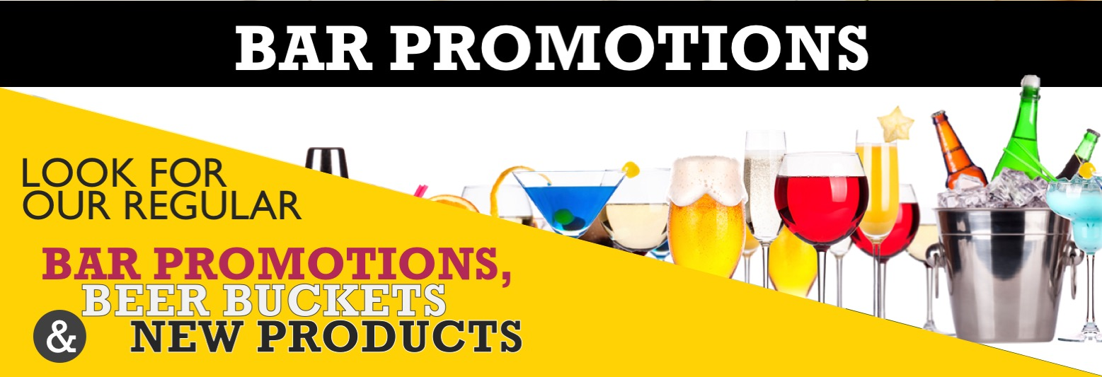 Bar Promotions